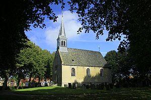 Oudega, De Fryske Marren - Oudega church