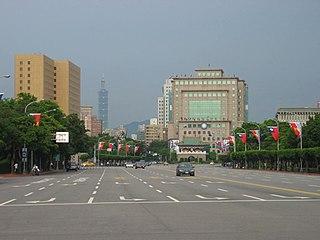 Ketagalan Boulevard thoroughfare