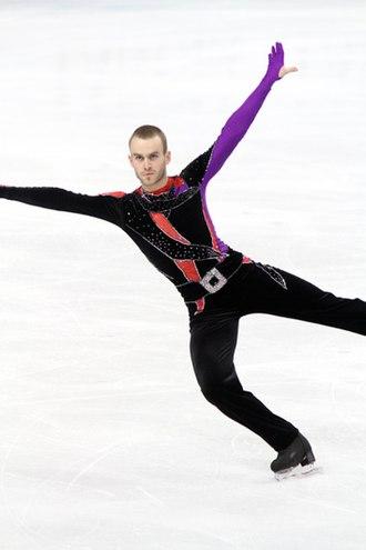 Kevin van der Perren - Van der Perren at the 2010 World Championships
