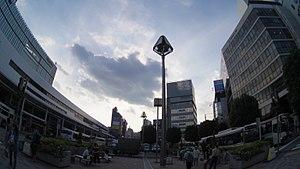 Kichijoji North exit Square