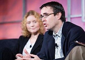 Joe Kraus - Kim Polese and Joe Kraus at the 2005 Web 2.0 Conference