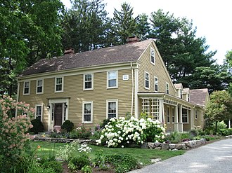 Oak Hill, Massachusetts - The King House, a building on the National Register of Historic Places