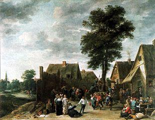 Village Festival at Inn \
