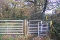 Kissing Gate near Winterbourne Wood - geograph.org.uk - 1583927.jpg