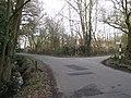 Kite's Nest Lane turns off Brownley Green Lane - geograph.org.uk - 1767870.jpg
