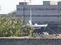 Kjervaagsund Name Sign Netaman Shipyard Port of Paljassaare Tallinn 8 July 2018.jpg