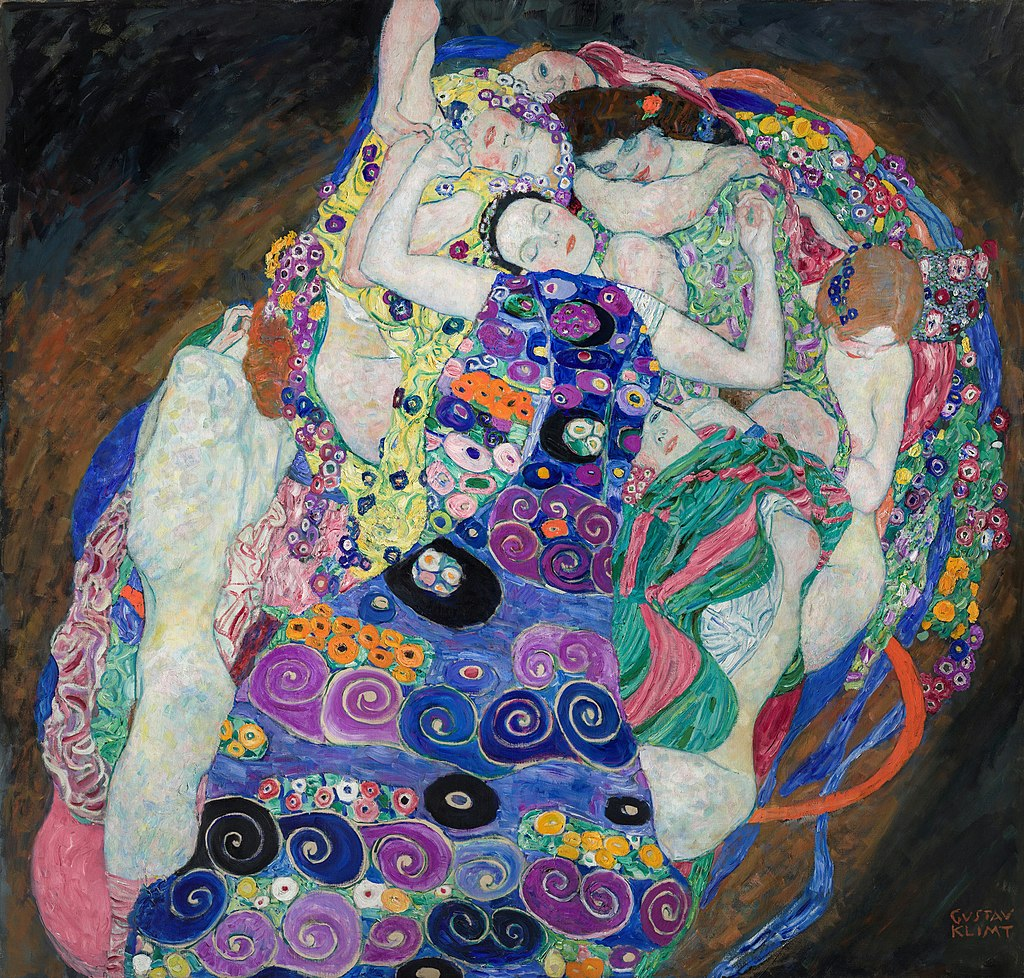 """The Maiden"" by Gustav Klimt"