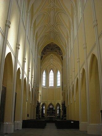 Sedlec Abbey - Image: Kloster Sedletz Innenraum