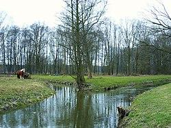 Koćina – Klóšterska woda a Halštrow.jpg