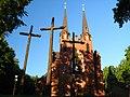 Kościół par. św. Izydora, 1905-1908 Rusków 01 JoannaPyka.JPG