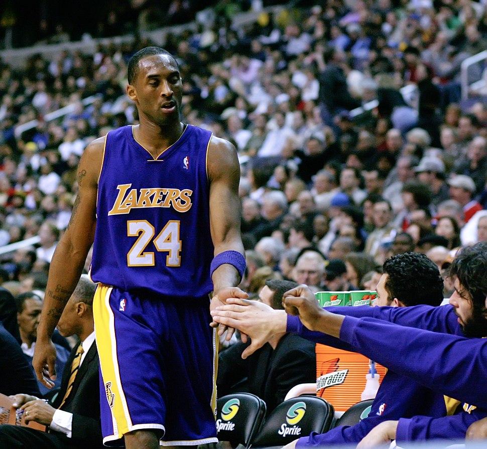 Kobe Bryant Washington Full Retouched