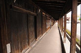 Groups of Traditional Buildings - Image: Komise Kuroishi Aomori