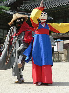 Korean mask dance-Songpa sandaenori-06.jpg