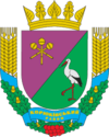 Coat of arms of Korjukivkas rajons