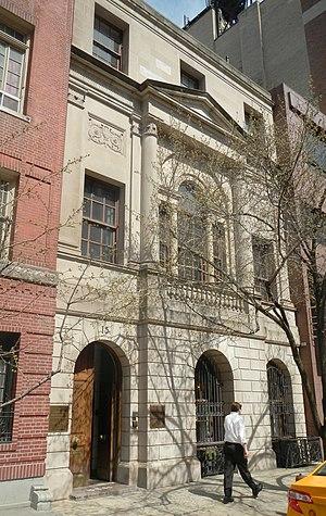 Kosciuszko Foundation - HQ on East 65th Street, Manhattan