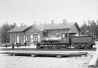 Kotka - Image: Kotkan rautatieasema
