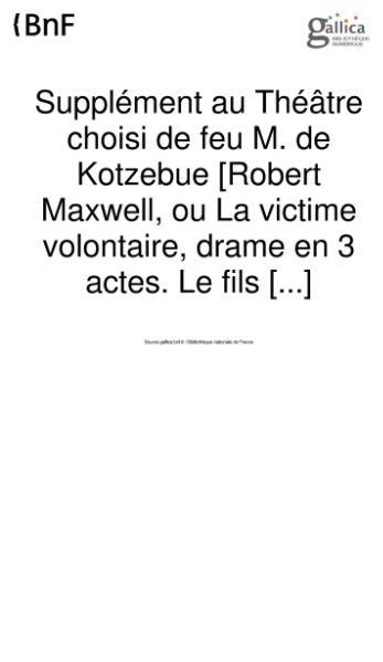 File:Kotzebue - Supplement au theatre choisi.djvu