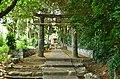 Kou-jinja (Iki), keidai-torii.jpg