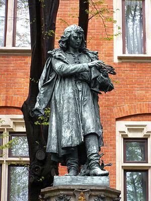 Nicolaus Copernicus - Nicolaus Copernicus Monument in Kraków