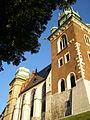 Krakow Wawel Wieza Zygmuntowska Sobieskiego.jpg