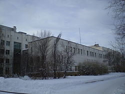 Krasnoyarsk State University building in December 2006.jpg