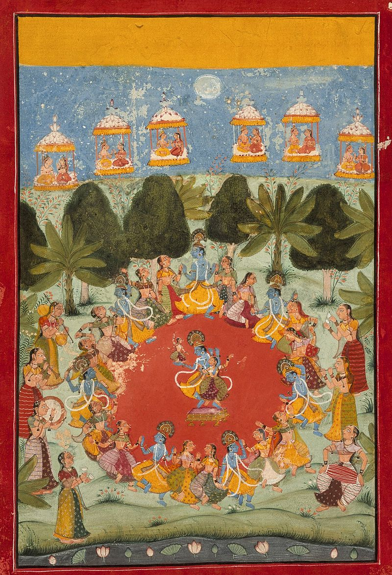 Krishna's Dance of Delight (Rasa Lila) LACMA M.75.66.jpg