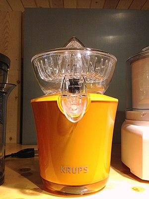 Krups - Krups juicer.