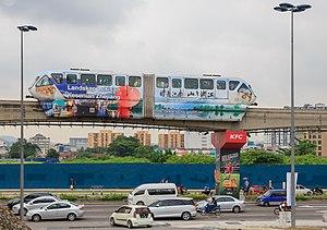 KL Monorail - ALWEG rolling stock