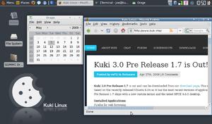 Kuki Linux - Image: Kuki linux screenshot 17