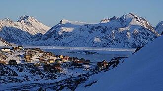 Kulusuk - Kulusuk in winter