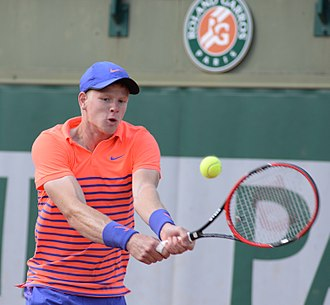 Kyle Edmund - Edmund at the 2015 French Open.