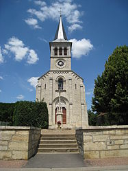 The church in Pouilly-sur-Vingeanne