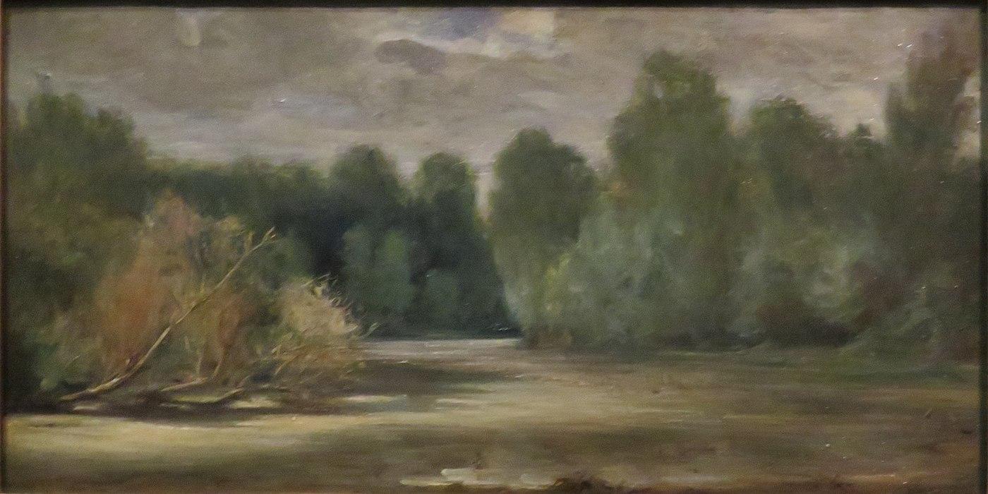 L'étang, près du Louroux