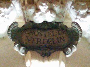 Hostel de Verdelin - L' Hostel de Verdelin inscription