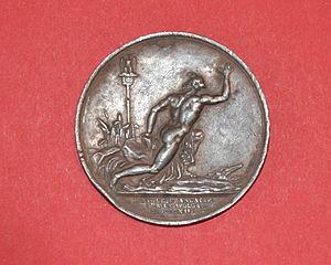 Auguste-François Michaut - Image: L'aigle français sur le Wolga par A.F.Michaut