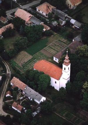 Látrány - Aerialphotography of Látrány
