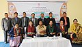L. Jayantakumar Singh and Officials during the Regional Orientation Workshop for Field Officers of Directorate of Field Publicity, Nagaland & Manipur Region, Ministry of Information and Broadcasting.jpg