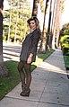 LBD under striped Ugaro blazer with polka dot tights and velvet angels wedges.jpg