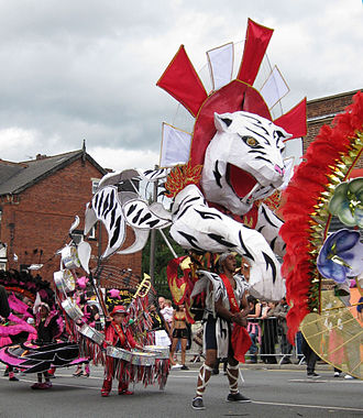 Leeds West Indian Carnival - Carnival King 2009