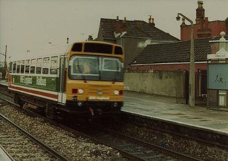 Severn Beach line - Image: LEV3 RDB977020 at Stapleton Road