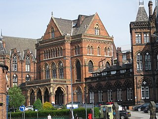 Leeds General Infirmary Hospital in West Yorkshire, England