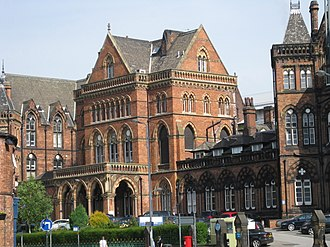 Leeds General Infirmary - Old George Street Entrance