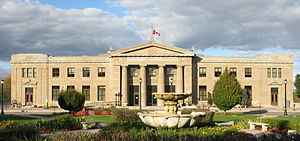 James Street (Hamilton, Ontario) - Image: LIUNA station, Hamilton, Ontario