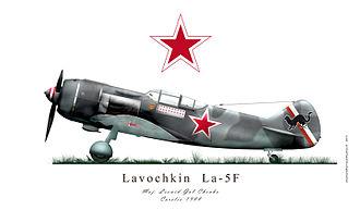 Lavochkin La-5 - Image: La 5Fweb