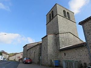 La Chapelle-en-Lafaye - Image: La Chapelle en Lafaye Église