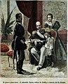 La Tribuna Illustrata 1897, No. 21 - La guerra greco-turca - Il colonello Vassos, reduce da Candia, è ricevuto dal Re Giorgio.jpg