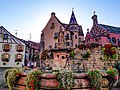 La place du Château Saint-Léon à Eguisheim.jpg