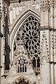 La rosace de la façade occidentale de la cathédrale d'Auxerre.jpg