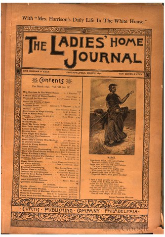 an analysis of ladies home journal Ladies' home journal: ladies' home journal, american monthly magazine, one of the longest-running in the country and long the trendsetter among women's magazines it was founded in 1883 as a women's supplement to the tribune and farmer.
