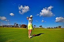 220px Lady golfer
